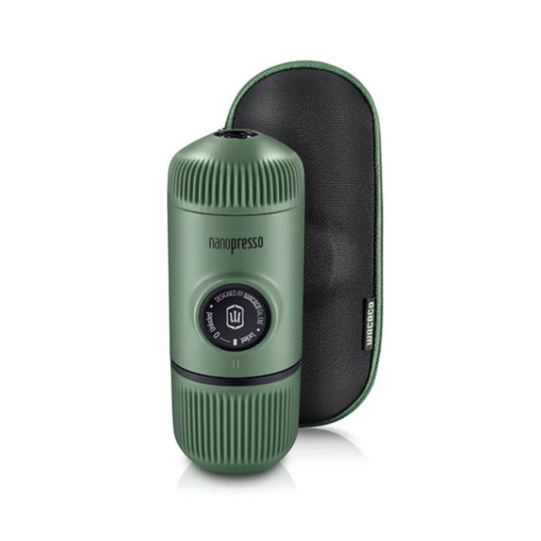 Nanopresso Elements (with Case) Wacaco NANOELMG-20 Coffee Maker One Size / Moss Green