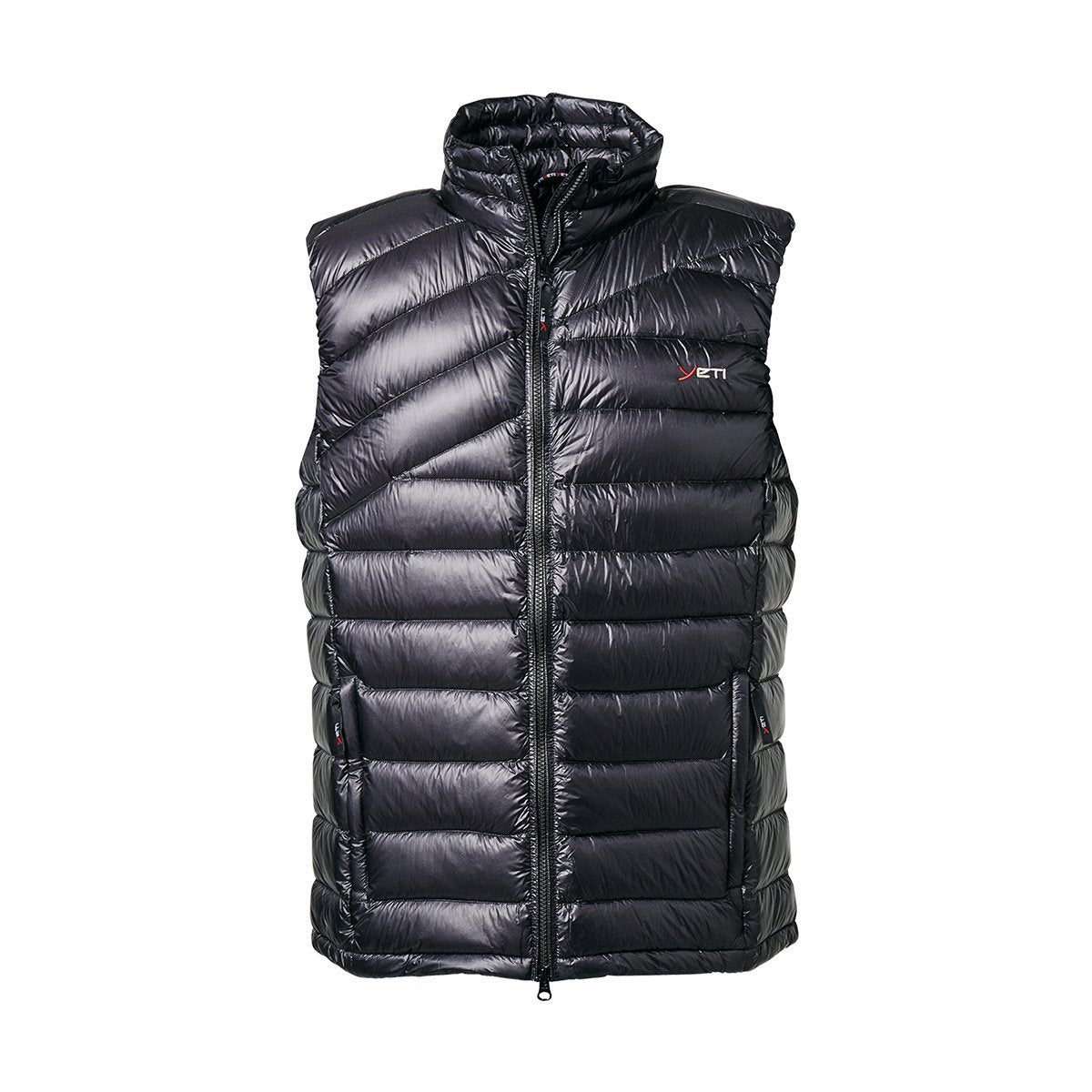 0118-M-BLACK, Yeti, Men's Solace Lightweight Down Vest, Black, Mens Padded Gilet