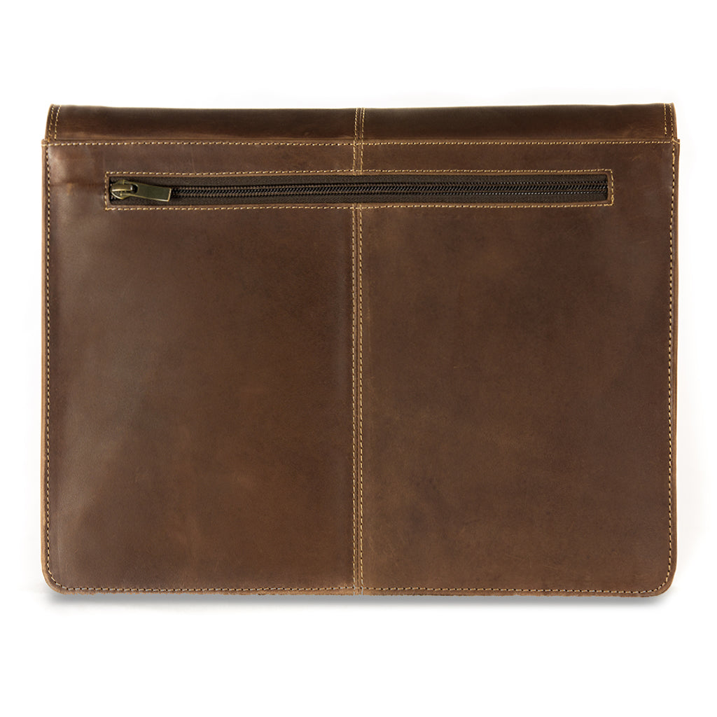 Cara plain back BuckleandSeam vintage vegetable tanned leather messenger bag buy online