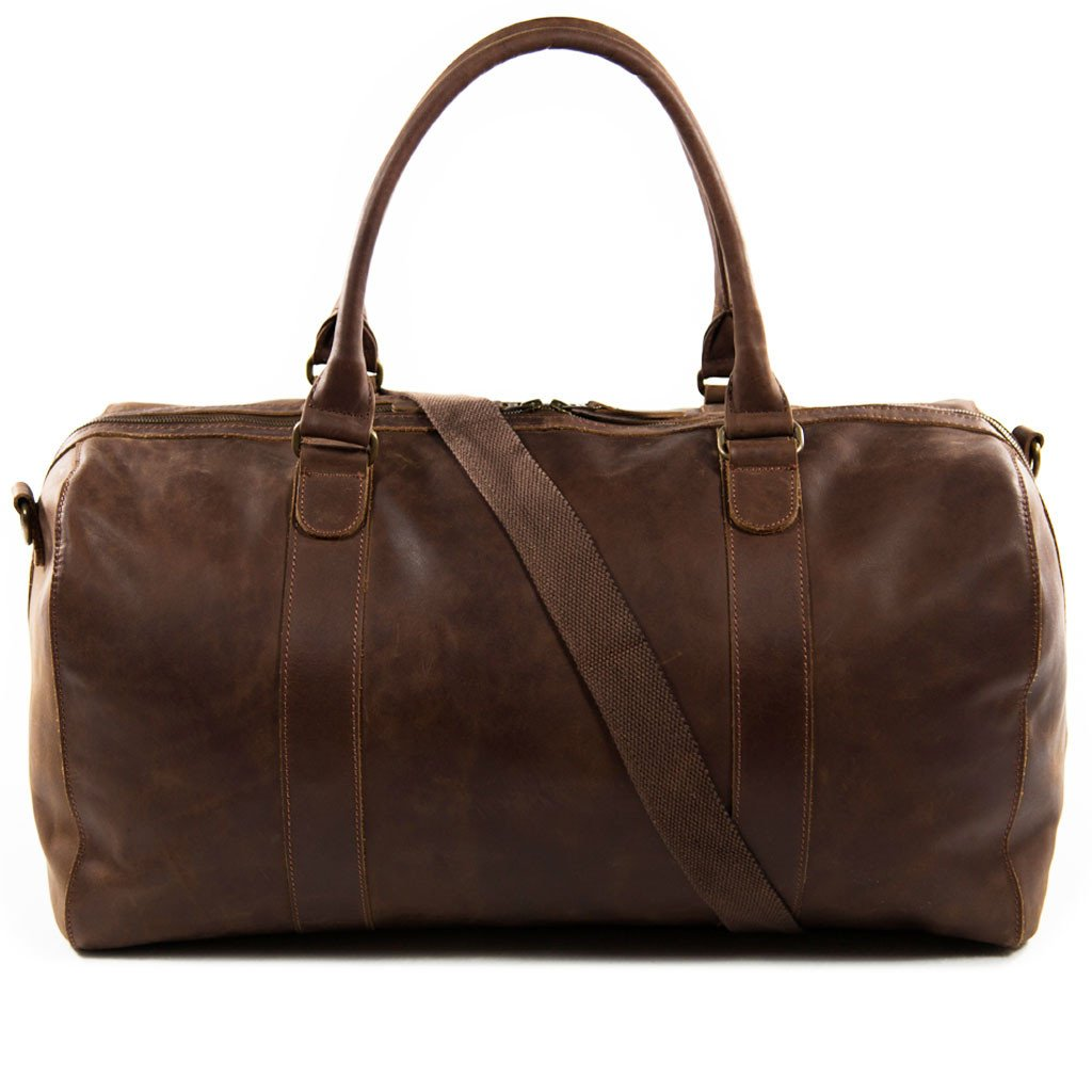 Willow back shoulder strap BuckleandSeam vintage vegetable tanned leather duffle bag buy online