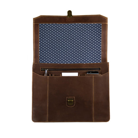 "Sierra dots openview BuckleandSeam vintage vegetable tanned leather messenger bag 15"" buy online"
