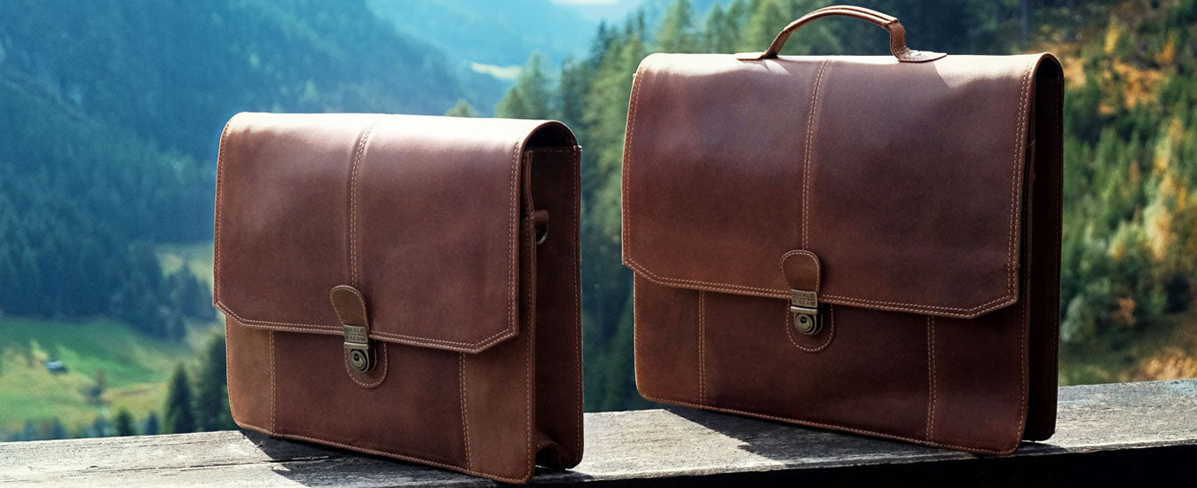 Buckle & Seam sierra messenger bag leather bag