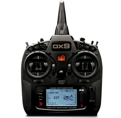 DX9 Spektrum advanced radio