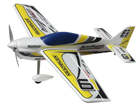 Multiplex Acromaster pro RR YELLOW/SILVER