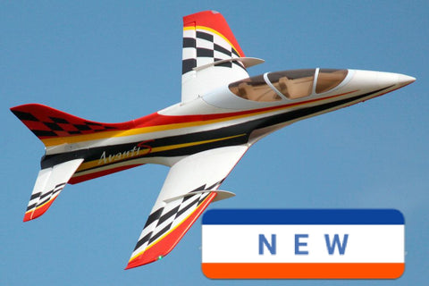 Freewing 80mm 12-Blade Metal EDF Avanti S Ultimate Sport Jet - Red scheme  - PNP