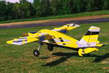 "Legacy Aviation 84"" Turbo Bushmaster - Yellow/ black scheme - ARF"