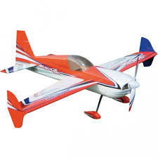 "3D Hobby Shop 44"" Slick 580 - Orange / white scheme - ARF"