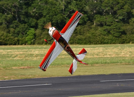 "Extreme Flight 52"" Extra Red/white scheme - ARF"