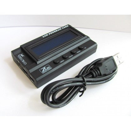 ZTW GECKO SERIES LCD PROGRAM CARD W/ USB INTERFACE