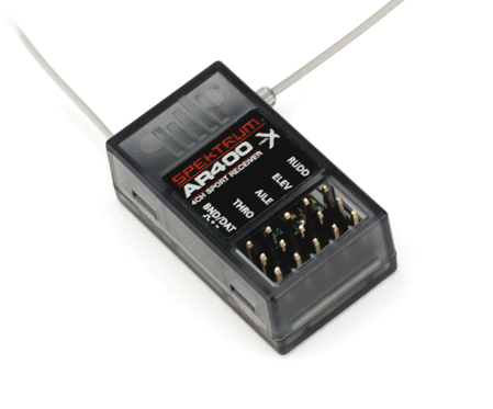 AR400 4-Channel DSMX Aircraft Receiver