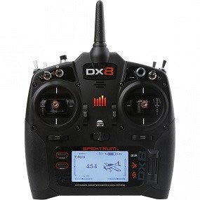 Spektrum DX8 G2 (Generation 2) 8 Channel System (with AR8010T) Mode-2