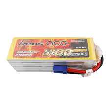Gens ACE 6S 5100mah 80C with EC5 connector