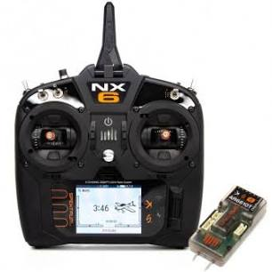 Spektrum NX 6 transmitter (6 channel transmitter incl. AR6610T 6 channel telemetry receiver )