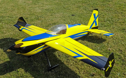 "3D Hobby Shop 60"" Slick 580 V2 - Blue/yellow scheme - ARF"