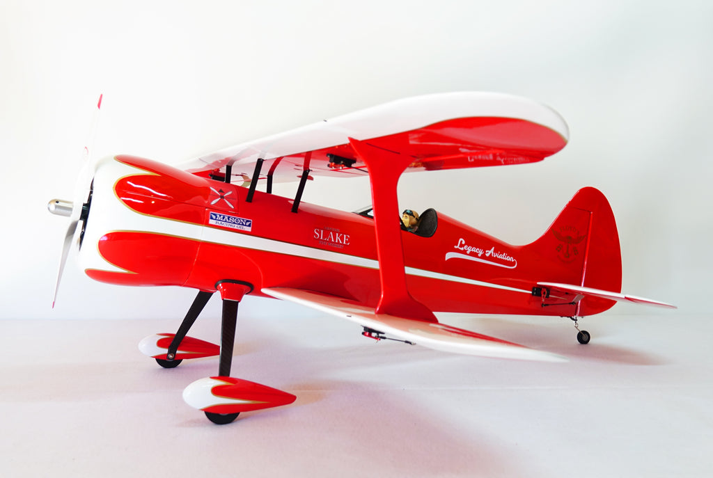 Legacy Aviation Muscle bipe '54 red / white scheme