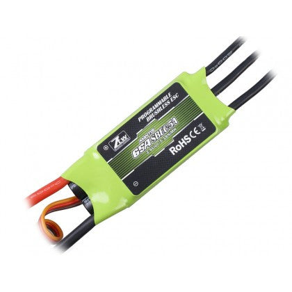 ZTW MANTIS SERIES 65A BRUSHLESS ESC W/ 5A ADJUSTABLE SBEC
