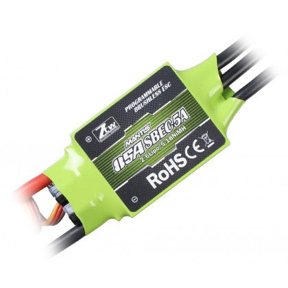 ZTW MANTIS SERIES 85A BRUSHLESS ESC W/ 5A ADJUSTABLE SBEC