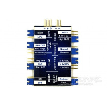 ZTW BEATLES SERIES BRUSHLESS ESC PROGRAMMING CARD