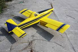 "Legacy Aviation 65"" Turbo Duster - Blue/ Yellow scheme - ARF"