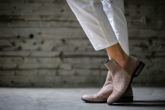 Francesca - Taupe Gray - Abramey Shoes