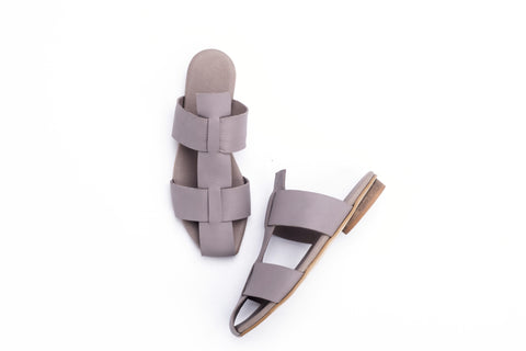 Jade - Taupe Gray - Abramey Shoes