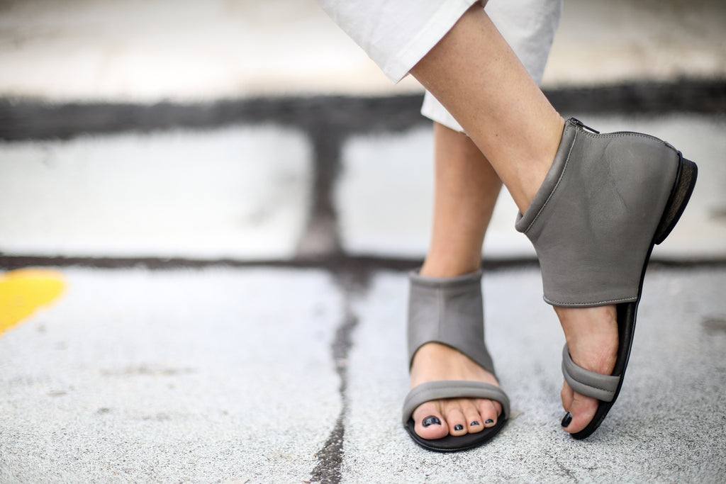 Albane - Grey - Abramey Shoes