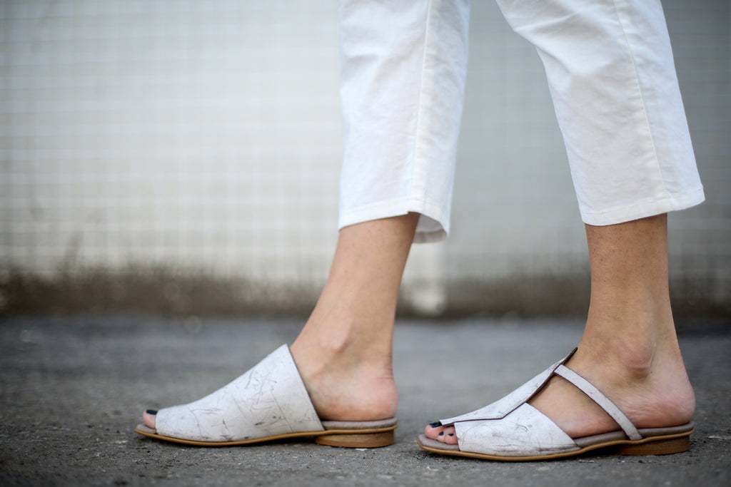 Martine - White - Abramey Shoes