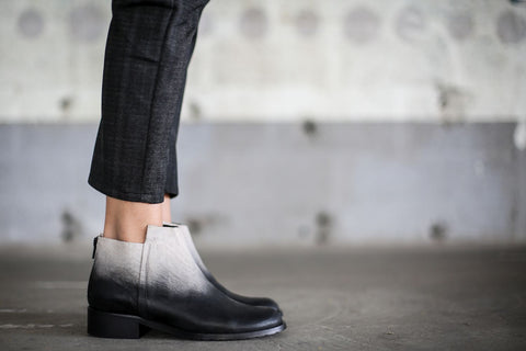 Alenna - Black and White - Abramey Shoes