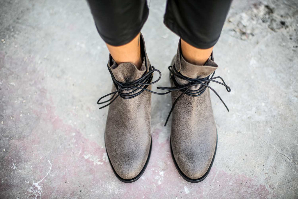 Lucca - Gray - Abramey Shoes