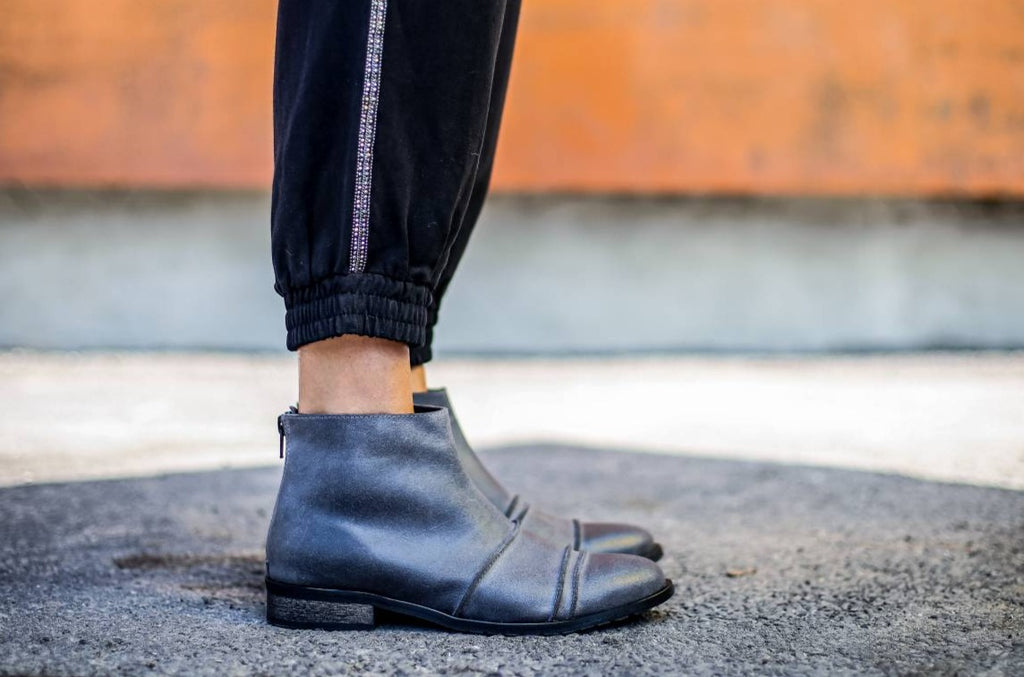Verona - Gray - Abramey Shoes
