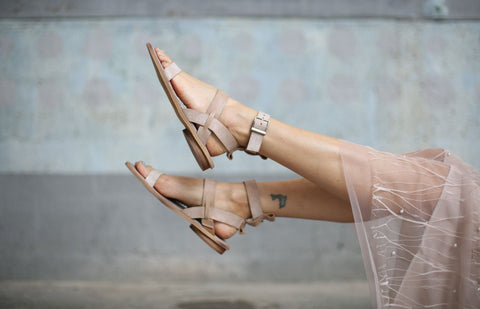 Abri - Nude - Abramey Shoes