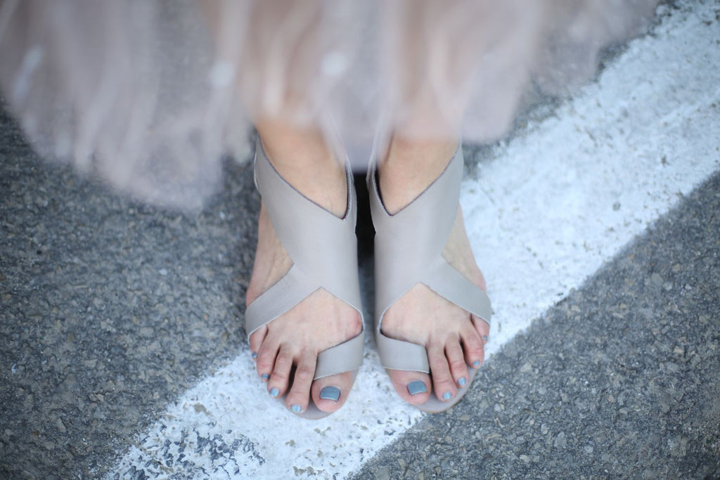Alexa - Grey - Abramey Shoes