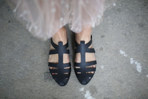 Alicia - Black - Abramey Shoes