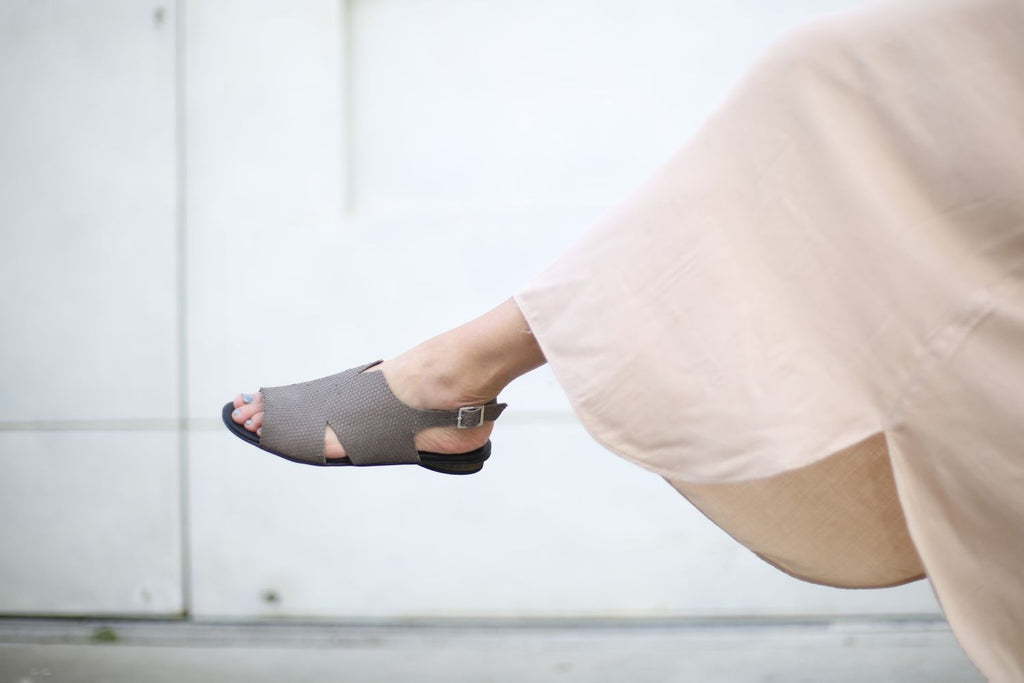 Beatrice - Mocha Grey - Abramey Shoes