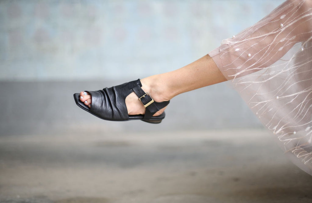 Phillipa - Black - Abramey Shoes
