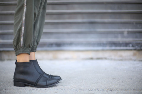 Verona - Black - Abramey Shoes