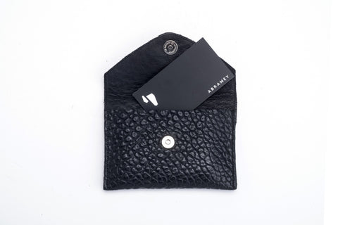 Looshi Wallet - Imprinted black