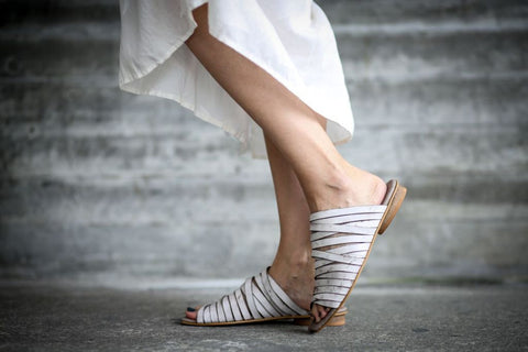 Sophie - White - Abramey Shoes