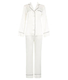Coco Silk Satin Pyjama Set Cream