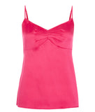 Samantha Stretch Silk Satin Camisole Ruby Rose