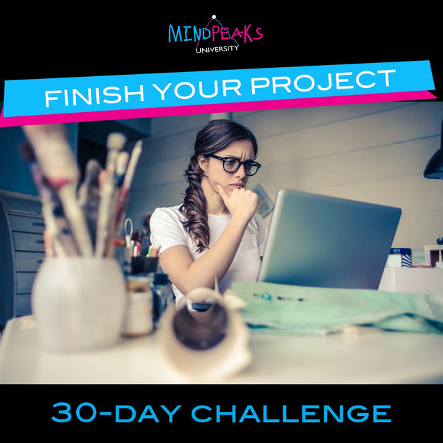 FINISH YOUR PROJECT (30-day  CHALLENGE)
