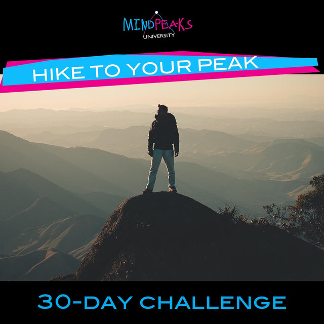 HIKE TO YOUR PEAK (30-day  CHALLENGE)