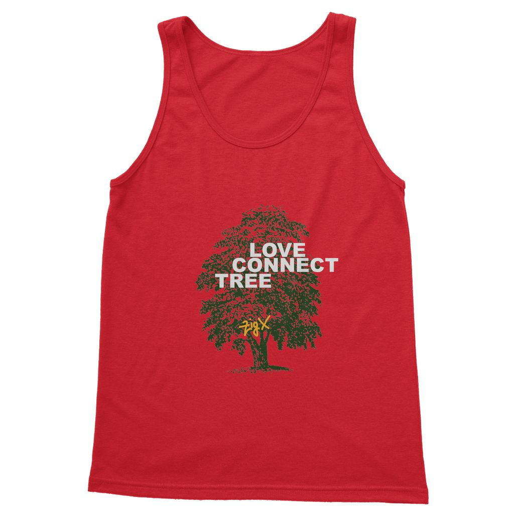 Love Connect Tree Softstyle Tank Top