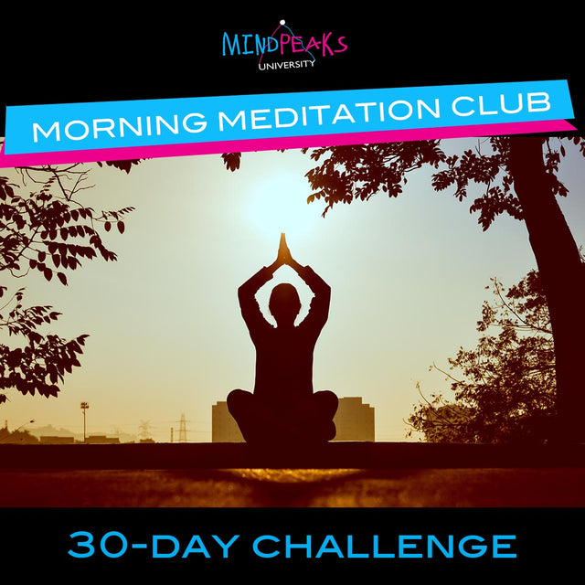 MORNING MEDITATION CLUB (30-day  CHALLENGE)