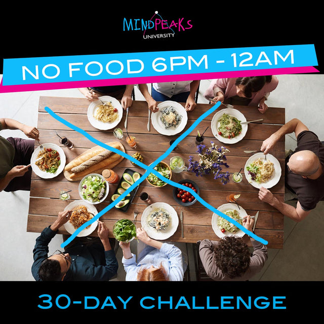 6pm-12am NO FOOD CLUB (30-day  CHALLENGE)