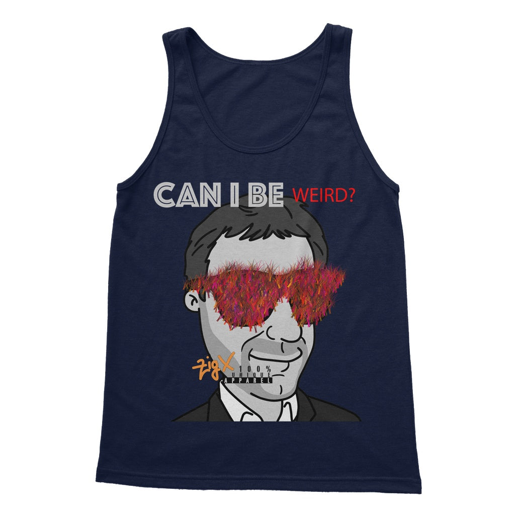 Can I be weird? Softstyle Tank Top