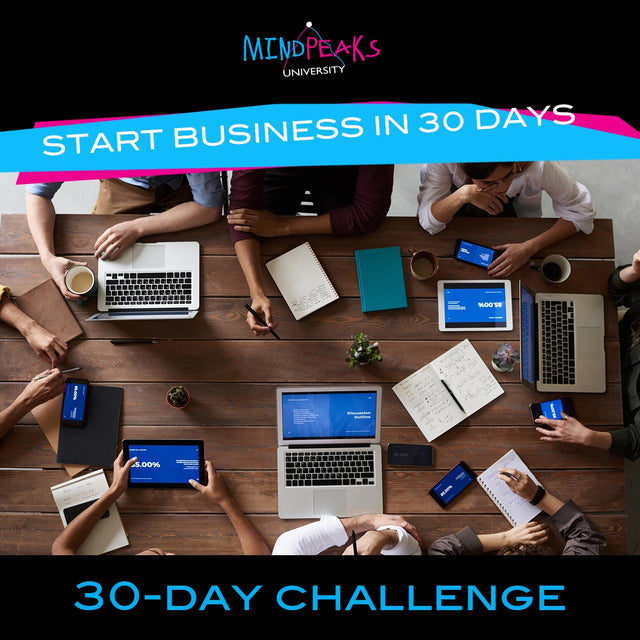 START NEW BUSINESS IN 30 DAYS (30-day  CHALLENGE)