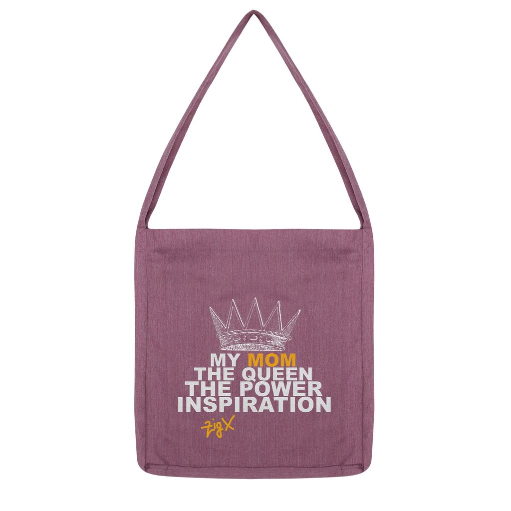 Mom The Queen Tote Bag
