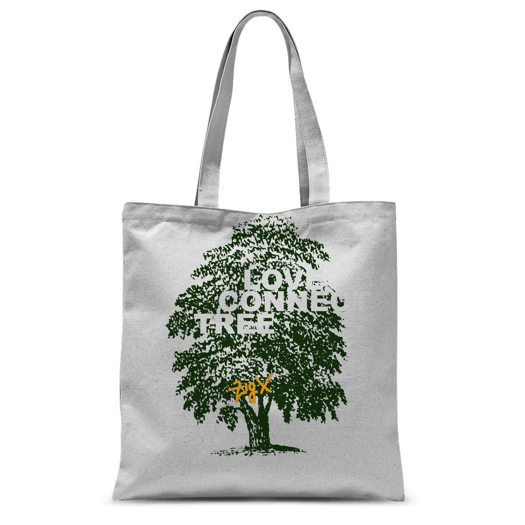 Love Connect Tree Sublimation Tote Bag