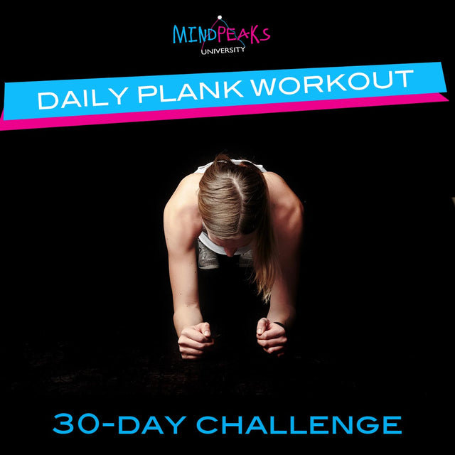 DAILY PLANK WORKOUT (30-day  CHALLENGE)